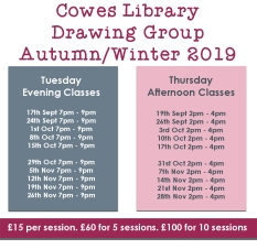 AutumnWinter_2019_Dates_Cowes_Library_Drawing_Group